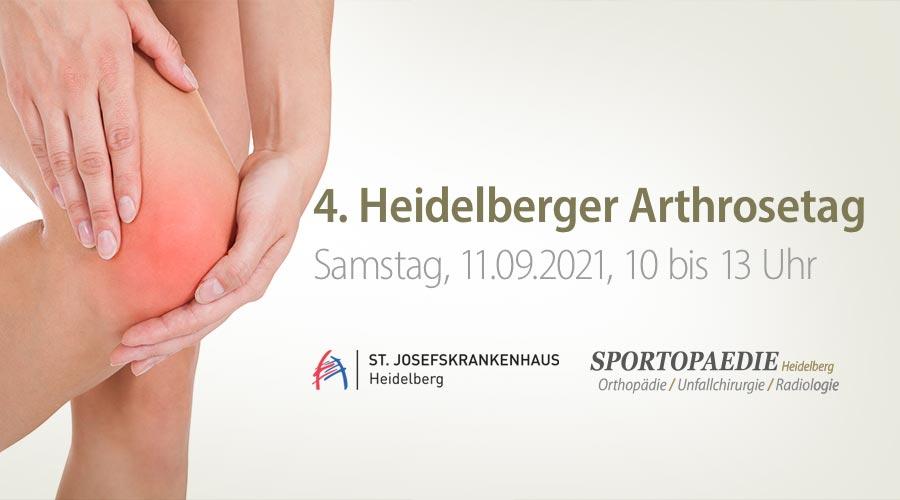 heidelberger arthrosetag sportopaedie - Sportopaedie 2019
